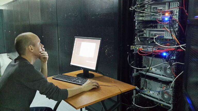 Наладка сервера в ЦОД